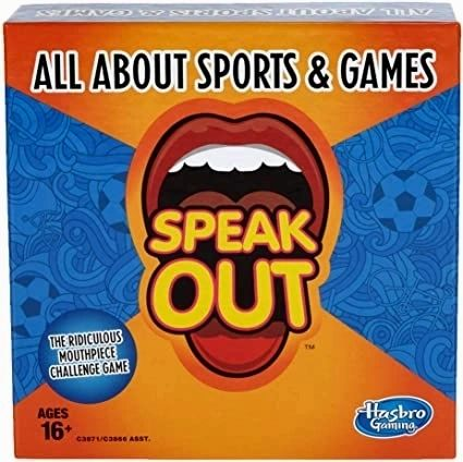 Speak Out All About Sports & Games Expansion