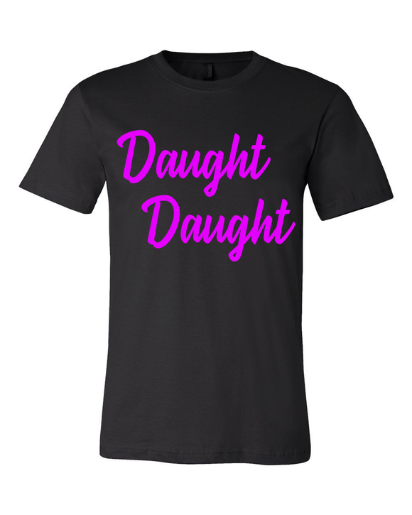 Daught Daught Girls T-Shirt:Black