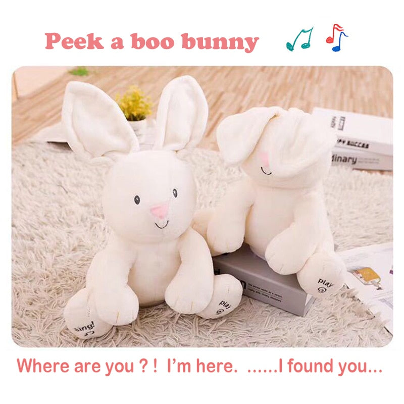 Music Peek a Boo Plushies