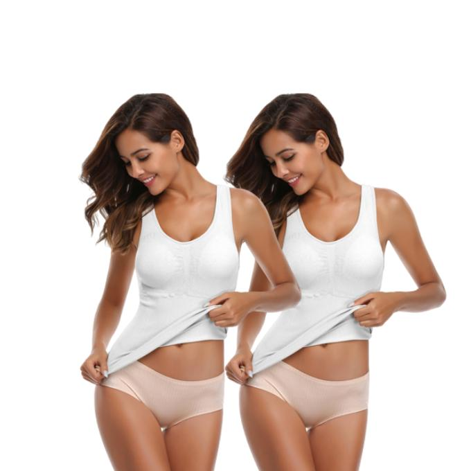 Everie™ Slimming 3-in-1 Cami (2 pcs) - Everie Woman