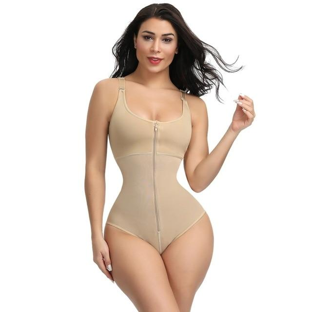 Everie™ Postpartum Zip and Hook Corset - Everie Woman
