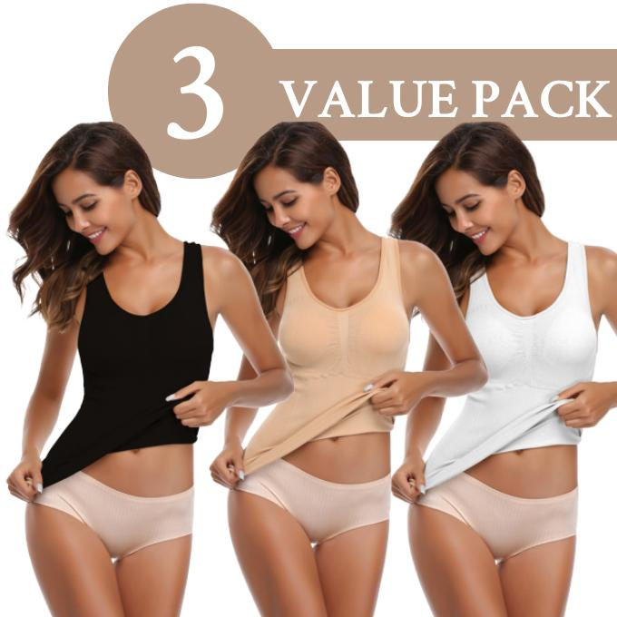 Everie™ Slimming 3-in-1 Cami (3 pcs) - Everie Woman