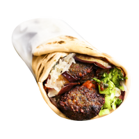 Falafel Laffa Wrap (Ve)