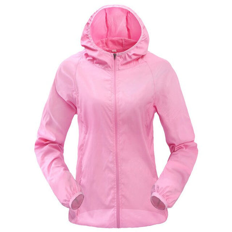 Windproof Outdoor Sports Jacket With Hoodie