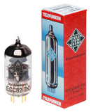 12AU7 Telefunken Black Diamond ECC82-TK New Production Tubes Fuzz Audio