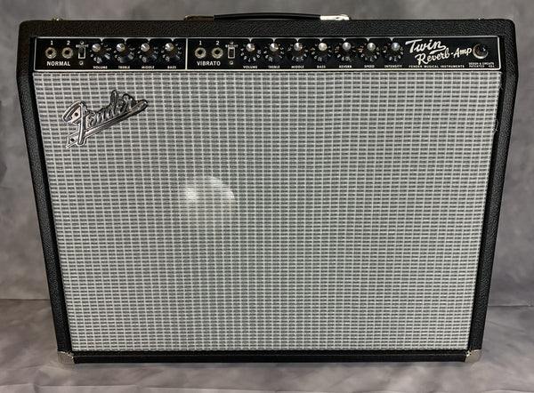 1967 Twin Reverb w/ JBL D130F Vintage Amplifier Fuzz Audio