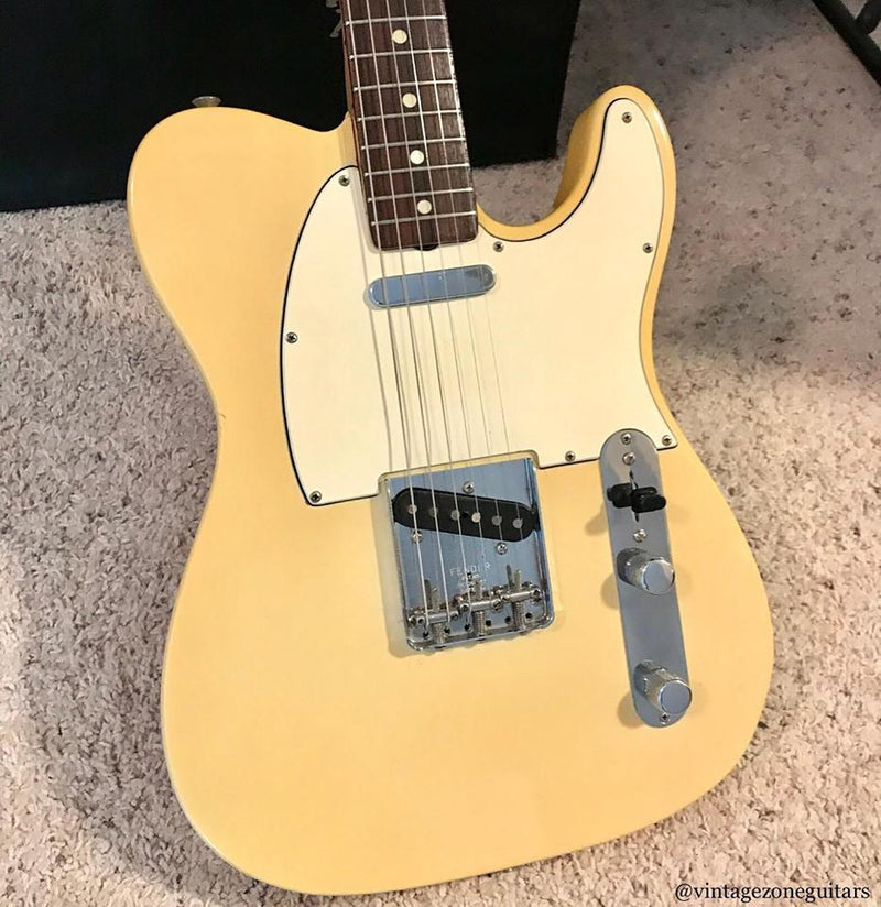 '68 Blonde Fender Telecaster Guitar Fuzz Audio