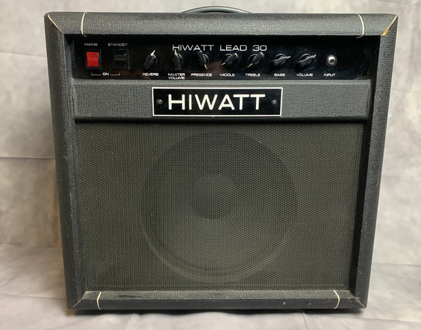 Hiwatt Lead 30 CS-30 Vintage Amplifier Fuzz Audio