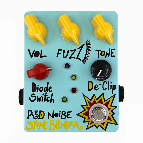 The Stone Blender Guitar Pedals Red Noise Pedals Seafoam