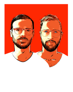 DOUBLE FEATURE PORTRAIT COMMISSION (PRINTED or DIGITAL)