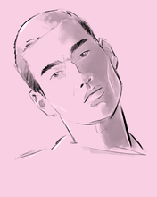 Load image into Gallery viewer, DIGITAL SKETCH PORTRAIT COMMISSION
