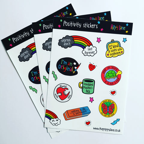 Positivity Sticker Sheets
