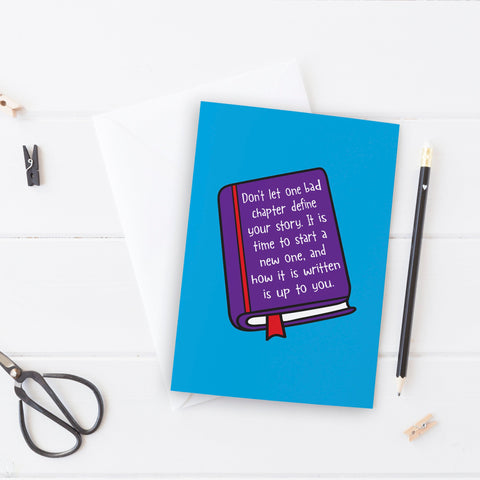 Write your own story Thinking of You Card - the-poppy-lane