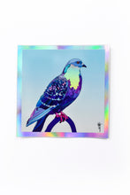 Load image into Gallery viewer, Stool Pigeon - Holographic Sticker