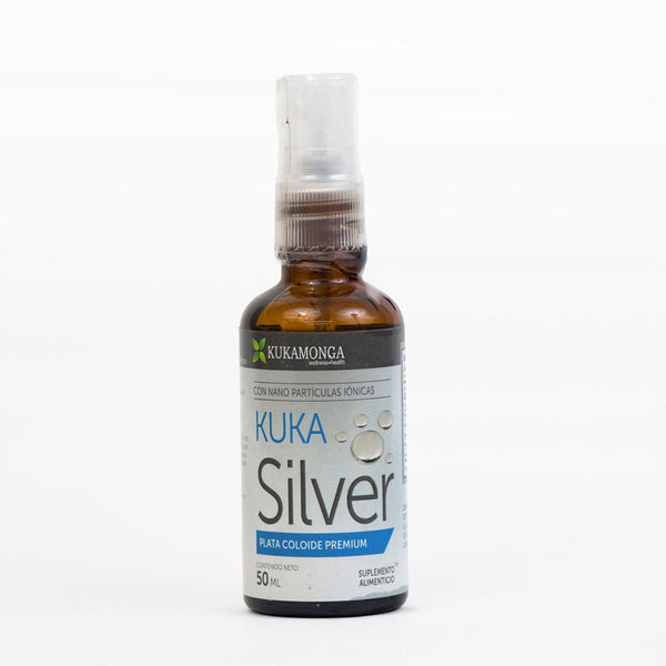 Kuka Silver Plata Coloidal Spray 50 ml Kukamonga