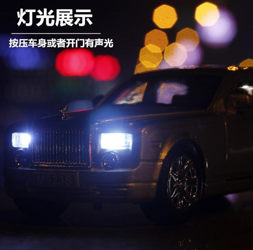 rolls royce phantom alloy diecast model car