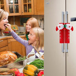 snowman kitchen handle door covers(set of 3)