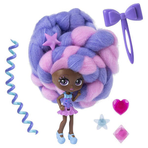 cotton candy hair dolls