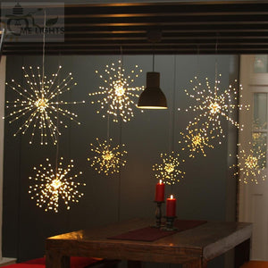 led solar fireworks light string(60 pcs)