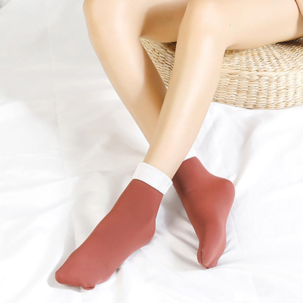 ultra-warm fleece ankle socks