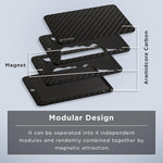 rfid money clip card case