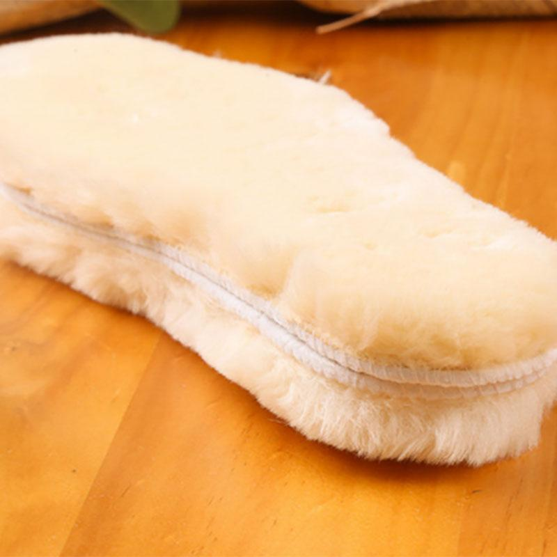 thickened plush insole