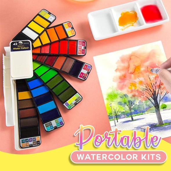 travel buddy portable watercolor kit