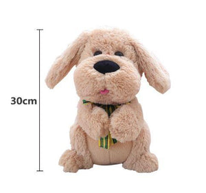 clapping & singing puppy toy
