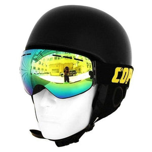 double layer snow goggles