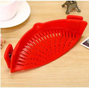 silicone snap strainer