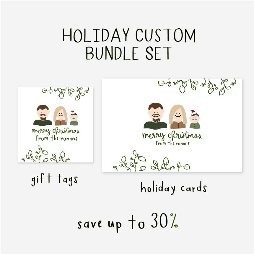Personalized Portrait Stickers