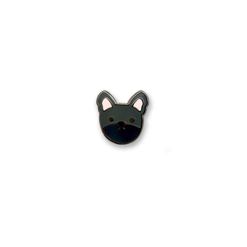 Frenchie Enamel Pin