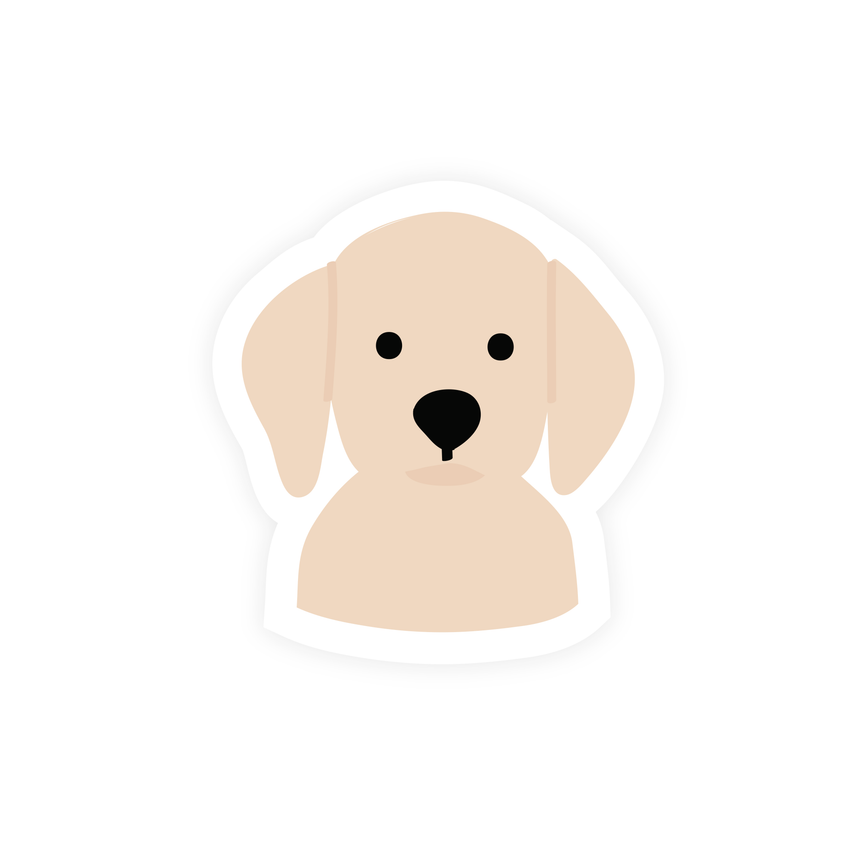 Labrador Vinyl Sticker