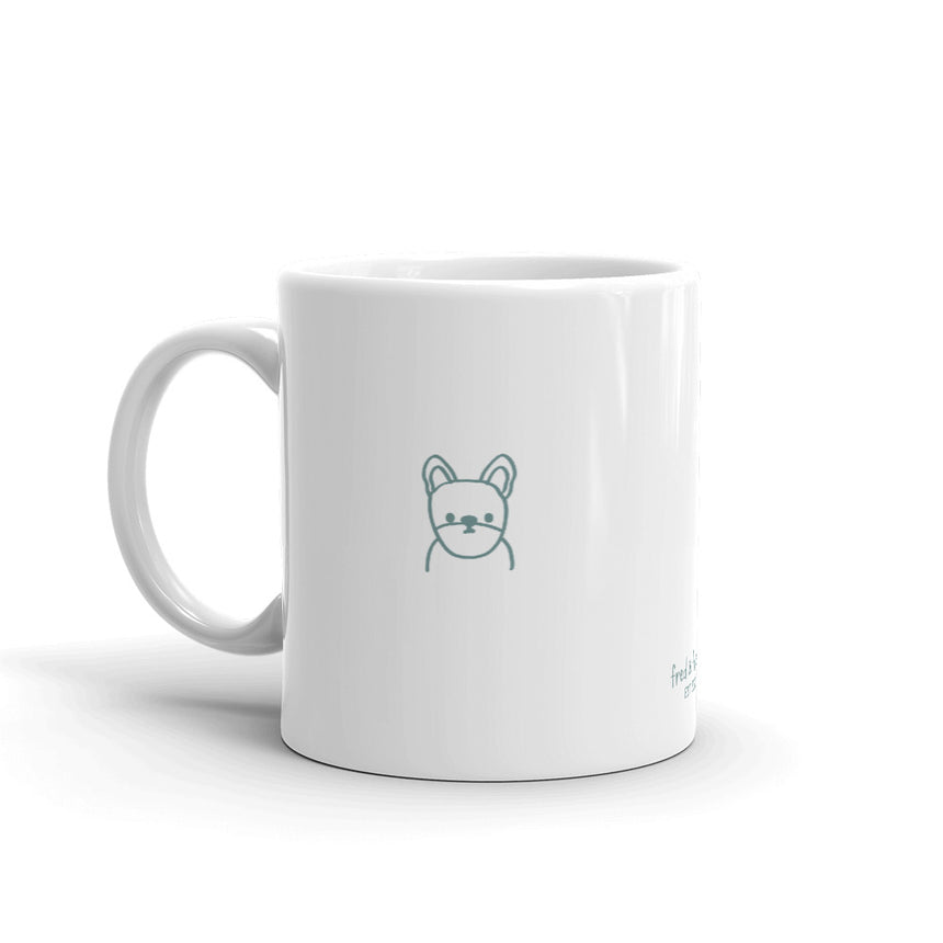 Frenchie Minimal Mug