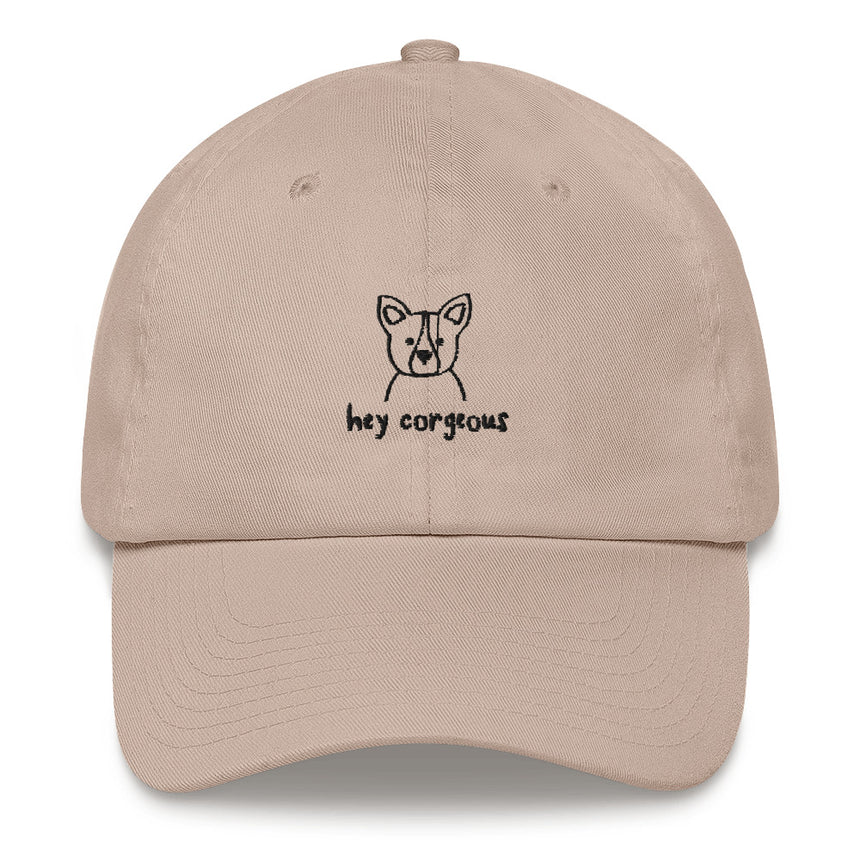 Hey Corgeous Embroidered Hat