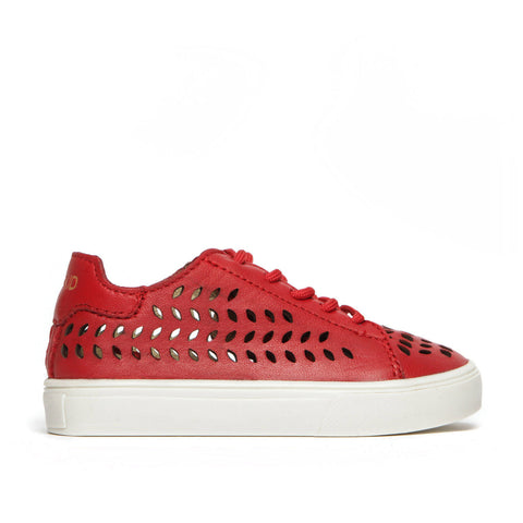 Birdie Lace-Up Sneaker ▲ Red (Laser)