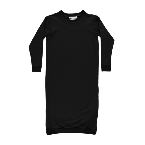 Meeki Sweater Dress ▲ Black