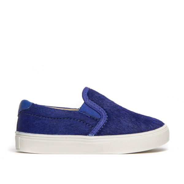 Liv Skate Slip-On Sneaker ▲ Electric Blue Cow