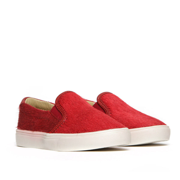 Liv Skate Slip-On Sneaker ▲ Crimson Cow