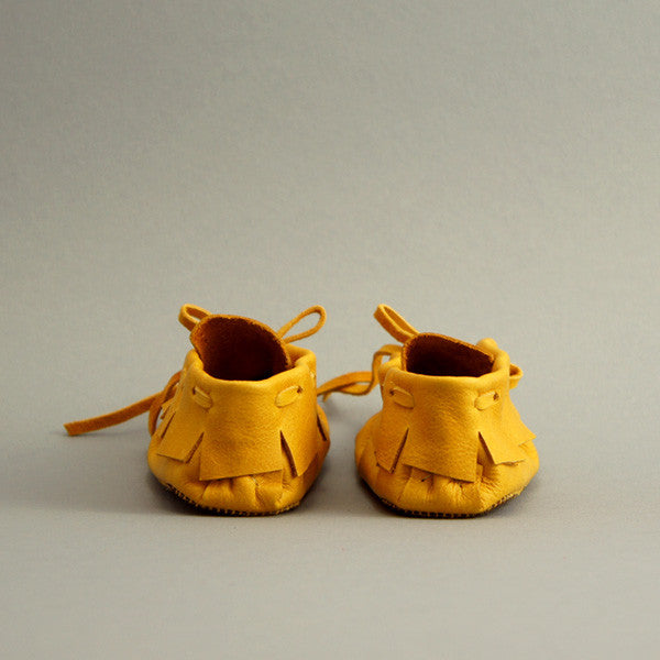 Toddler/Child Fringe Moccasin ▲ Marigold