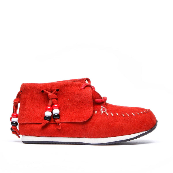 "Stone ""Mocc"" Sneaker ▲ Red"