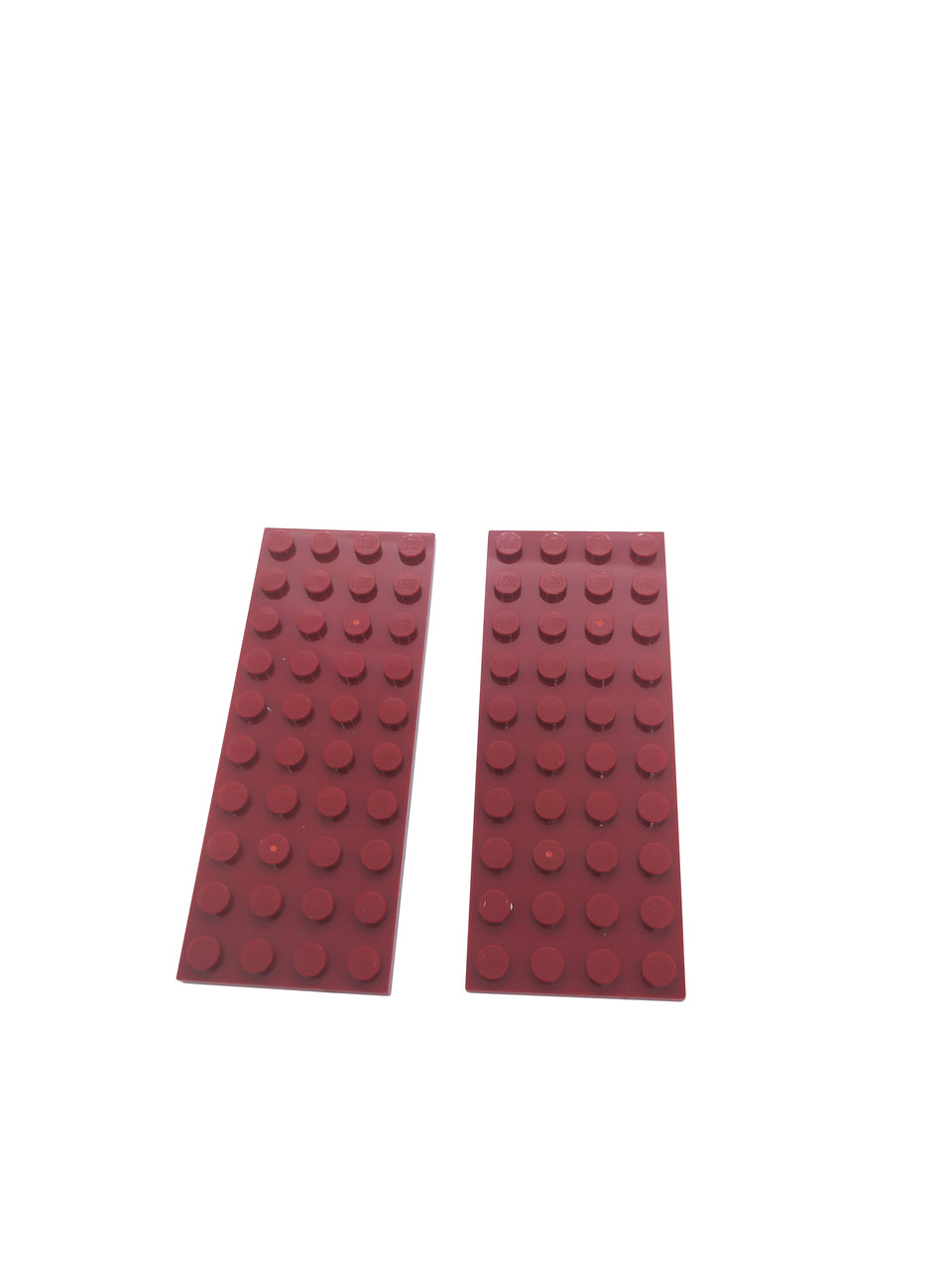 2 Maroon color surface 10 * 4 - Lego