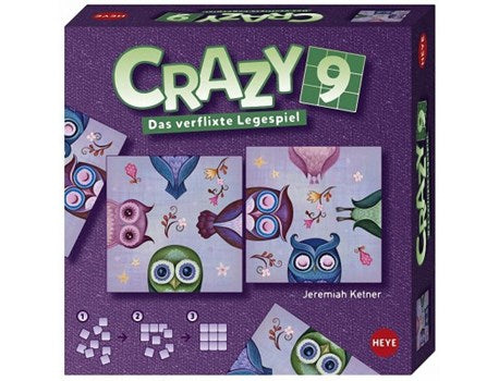 puzzle crazy 9 Owls pic Heye 9 pieces
