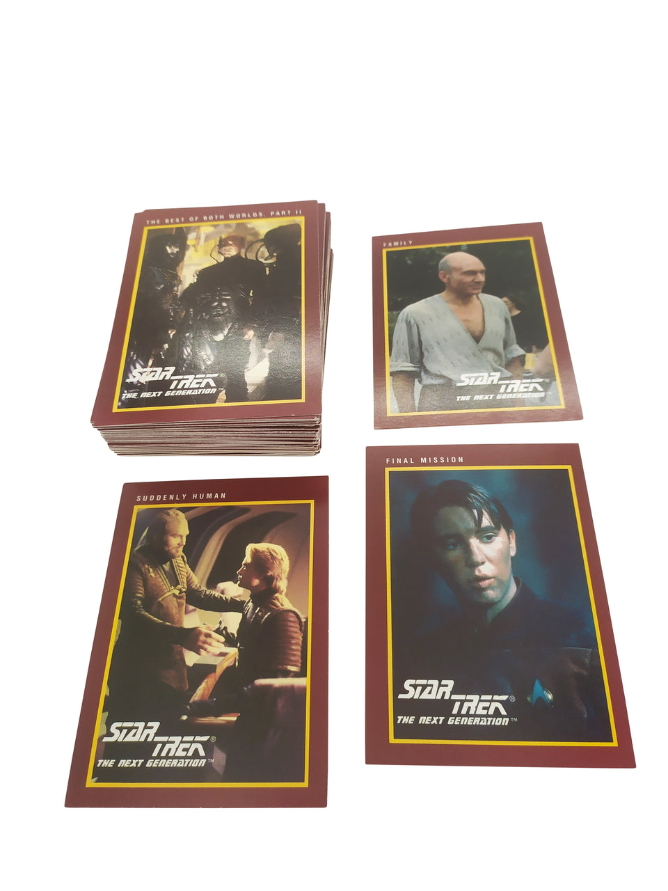 lot of 70 - skybox star trek 1991 - Mystery cards  Package # 2