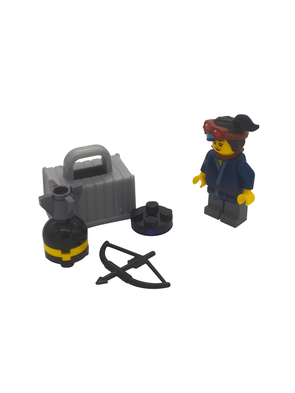 Lego Woman Warrior with accessories