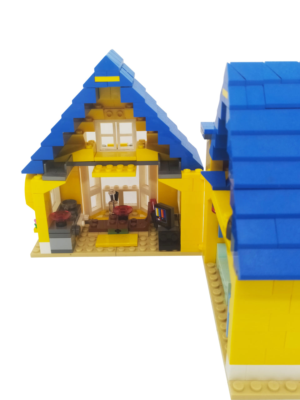 special set of Lego movie house