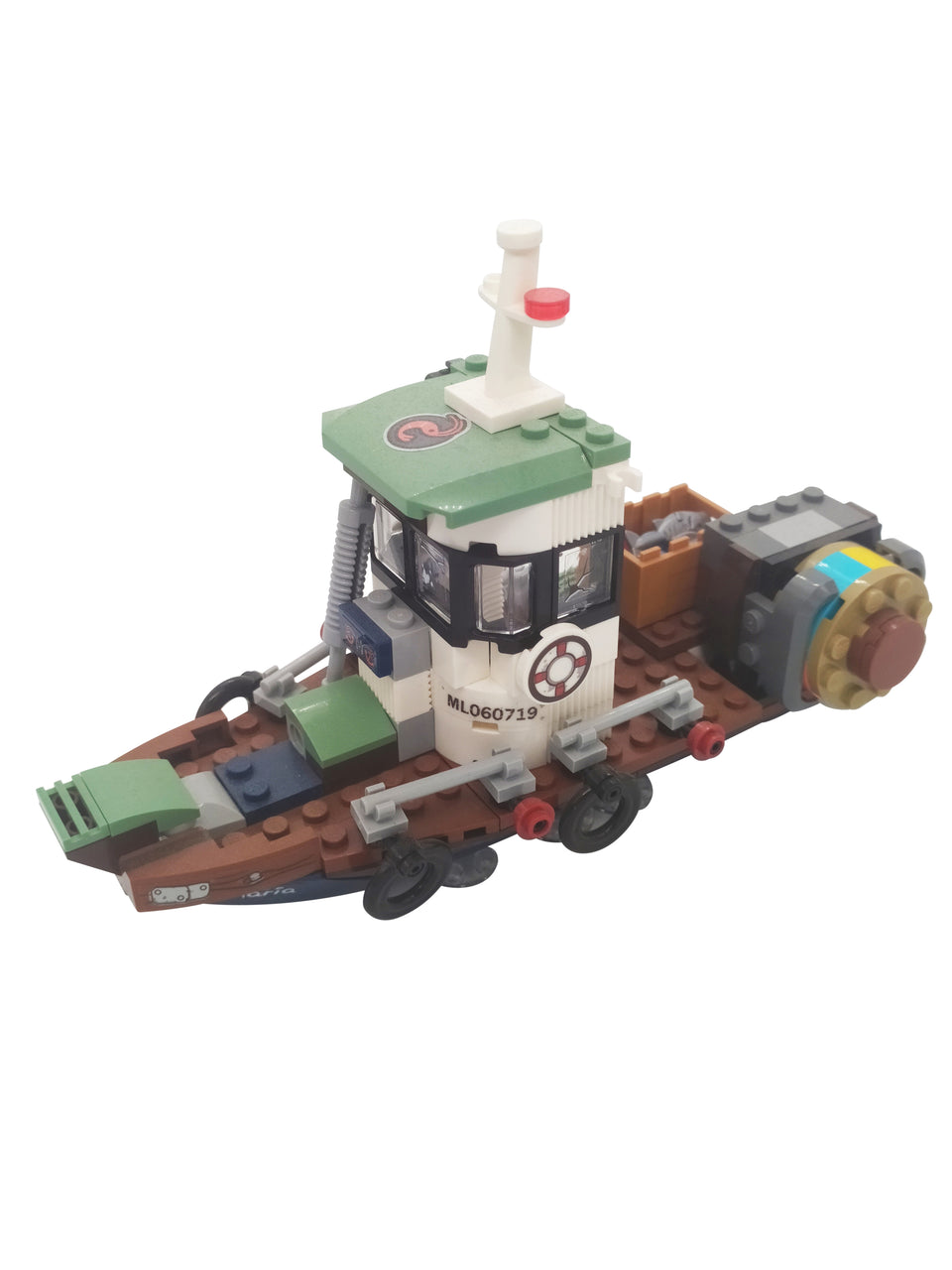 Special set of Lego fishing boat