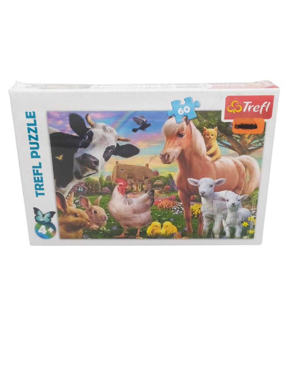 Trefl puzzle 60 piece - Farm animals