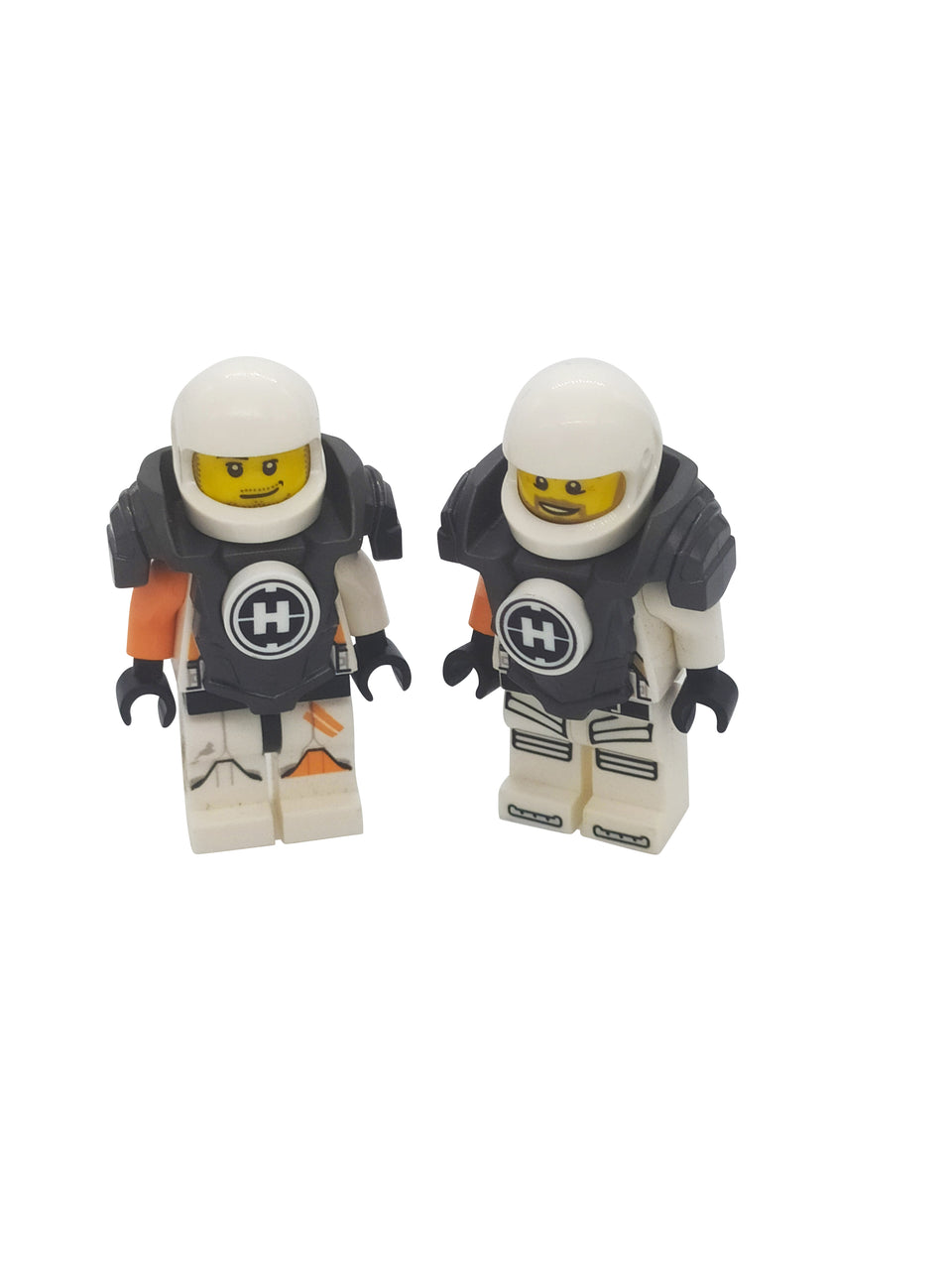 2 lot of space warriors,mini-figure with special suits - lego