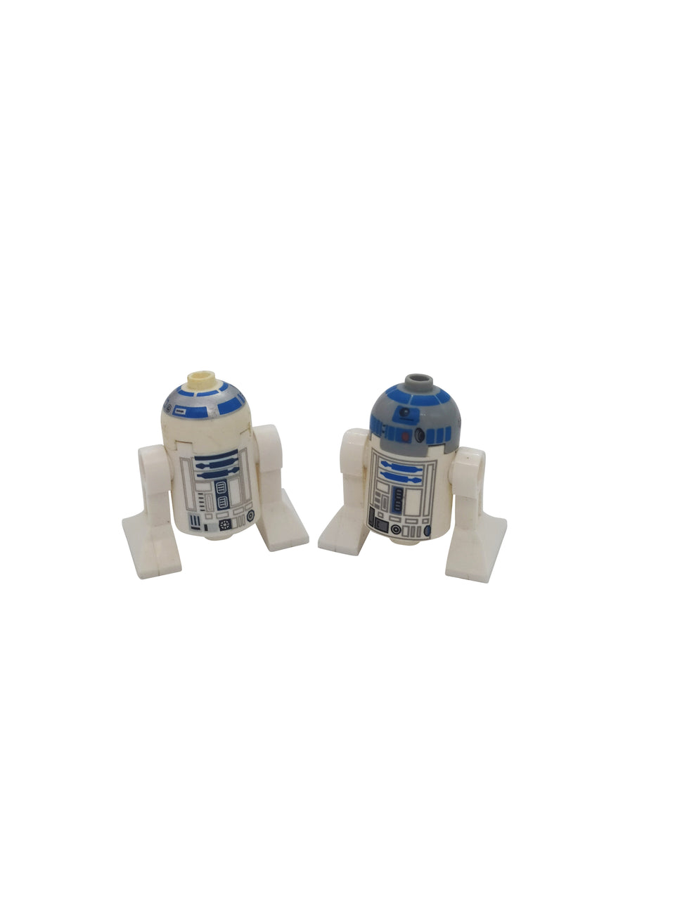 2 special Minifigures  , R2-D2 - from star wars lego
